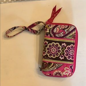 Vera Bradley phone wallet wristlet